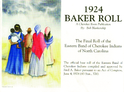 1924 BAKER ROLL - Click Image to Close