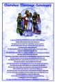 CHEROKEE WEDDING CEREMONY POSTER