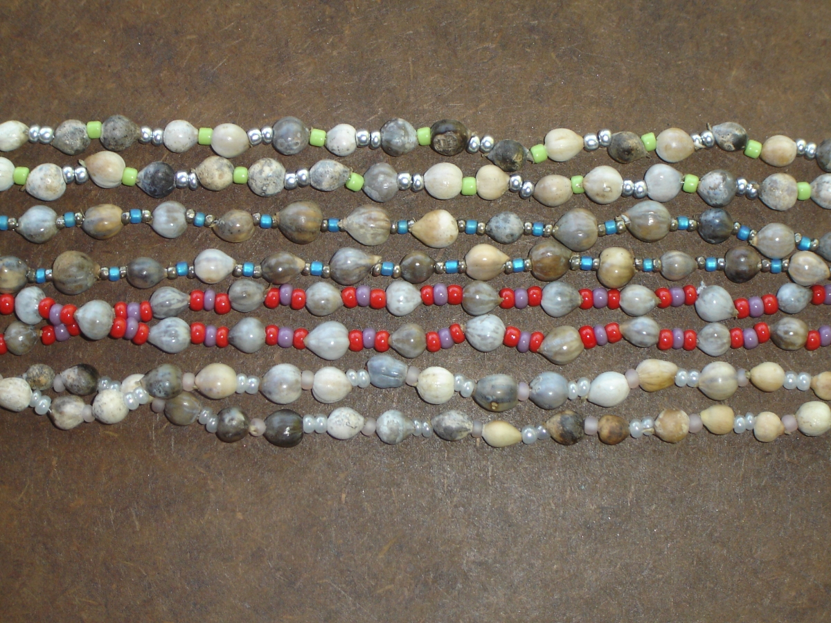 HANDMADE CORNBEAD NECKLACE