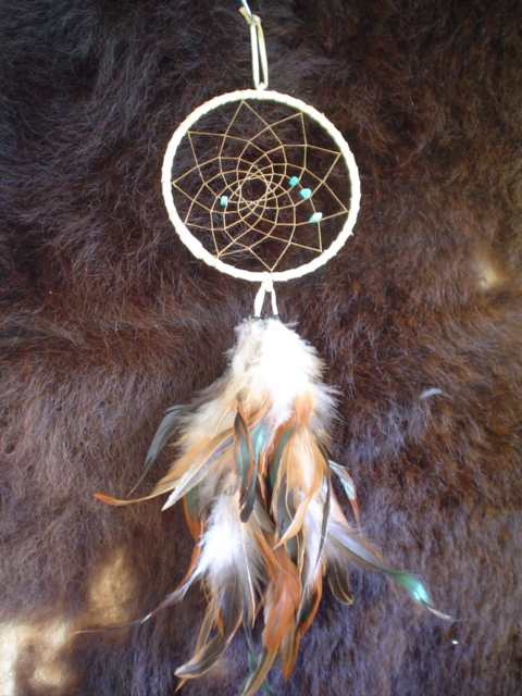 HANDMADE DREAMCATCHER [GDRE] 4040 Cherokee Publications Magnificent Cherokee Indian Dream Catcher